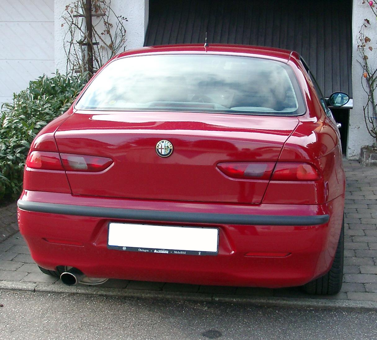 File:Alfa Romeo 156 Rear.jpg