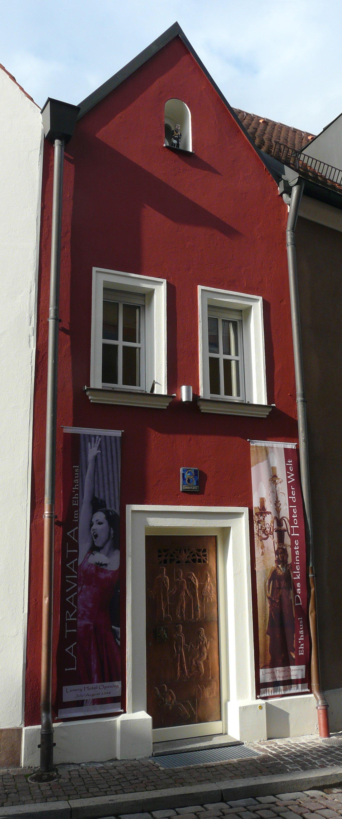 the world 39 s smallest hotel eh 39 h usl amberg germany. Black Bedroom Furniture Sets. Home Design Ideas