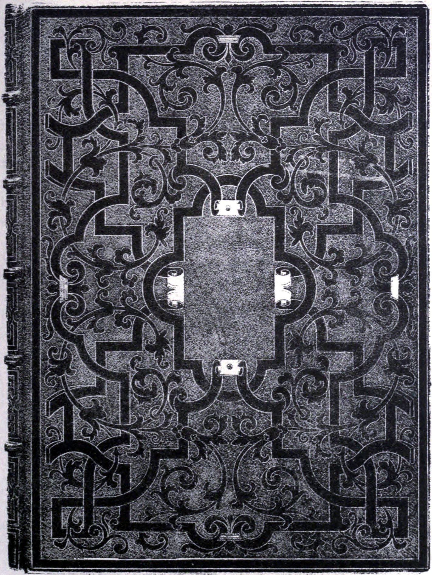 Plain Black Book Cover : File art of bookbinding p maioli wikimedia commons