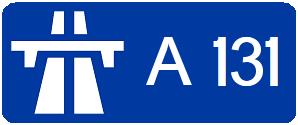 A131 autoroute #