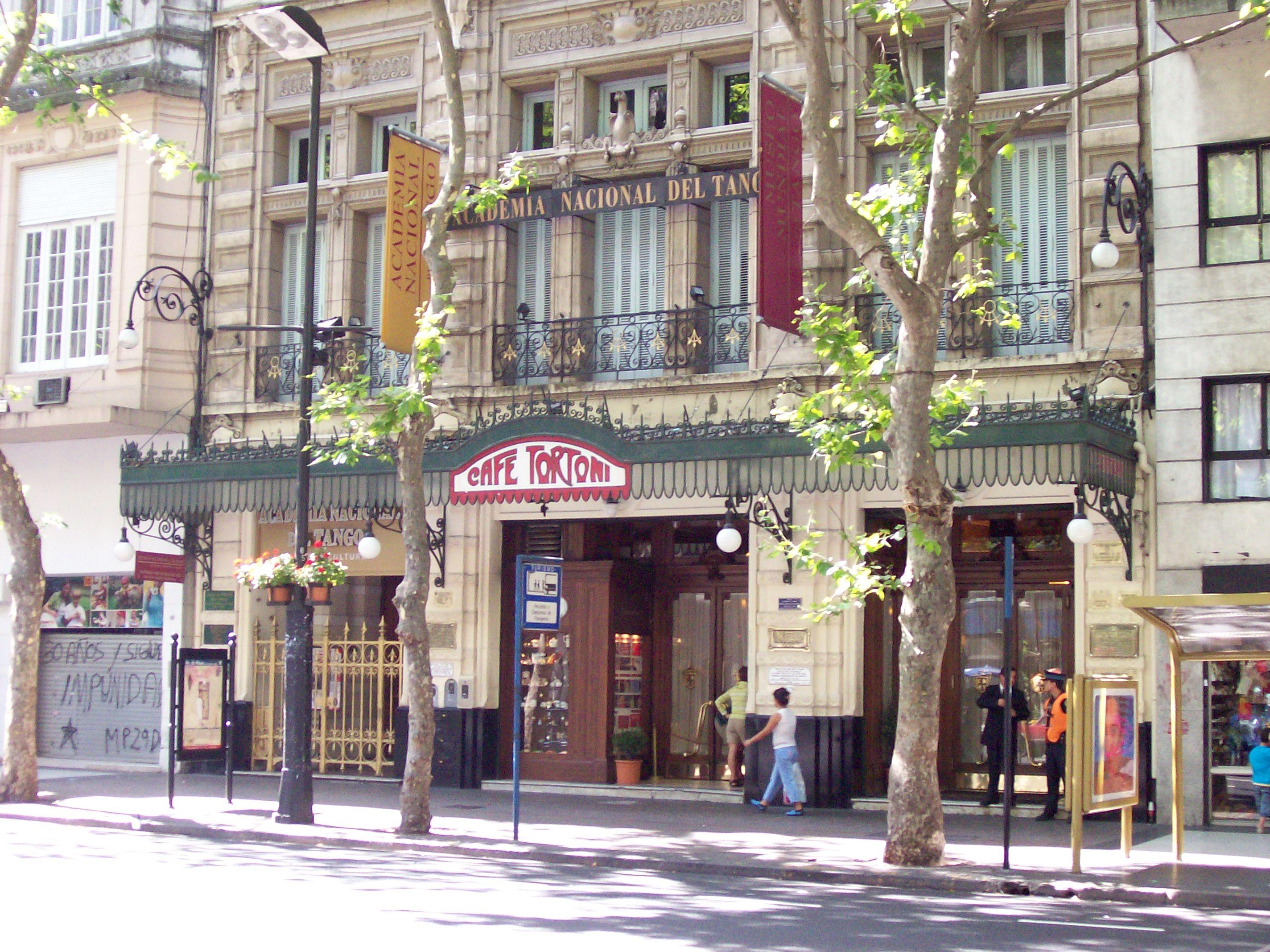 Archivo:Avenida de Mayo Café Tortoni.jpg - Wikipedia, la enciclopedia libre