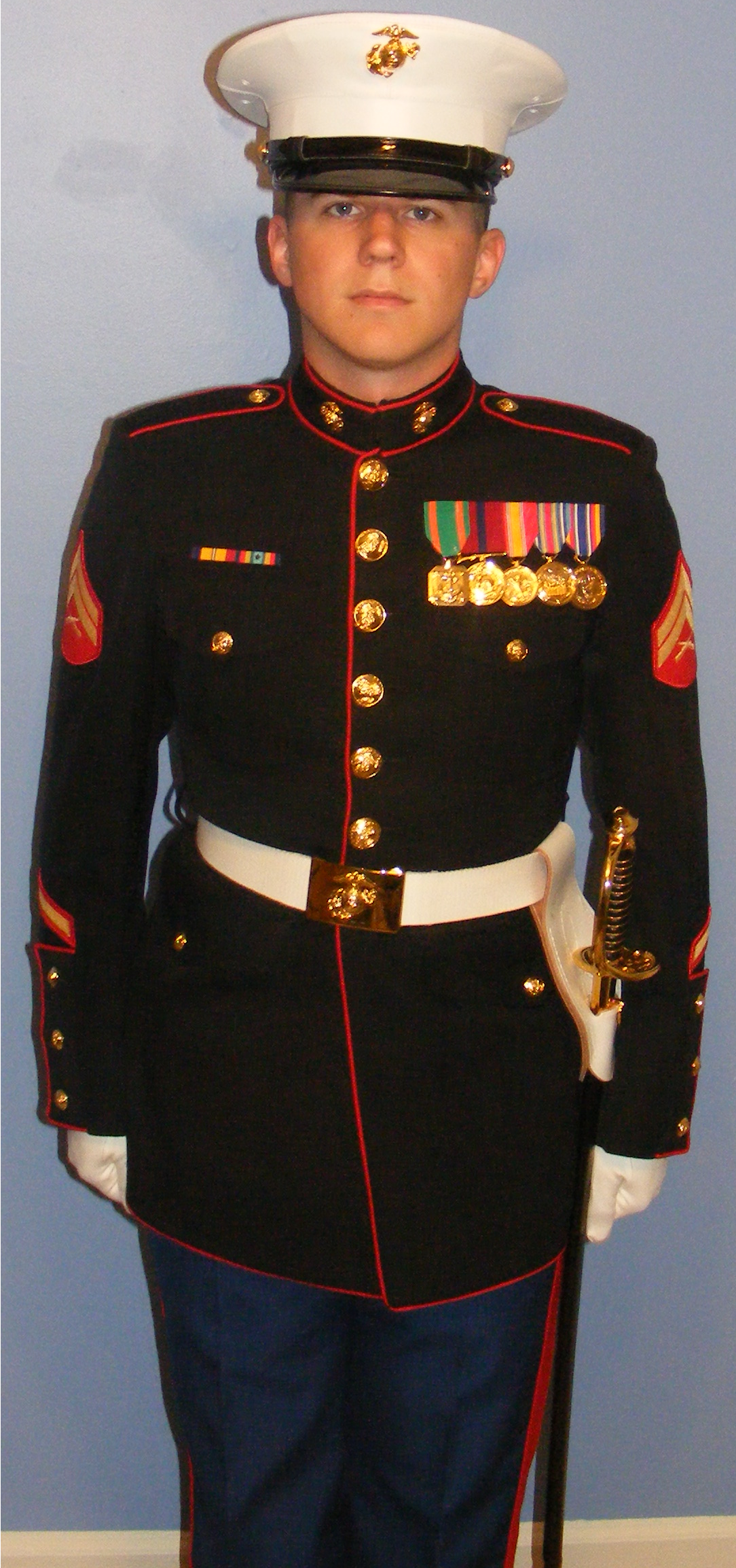 Marine Corps Dress Blues Uniform Regulations 107