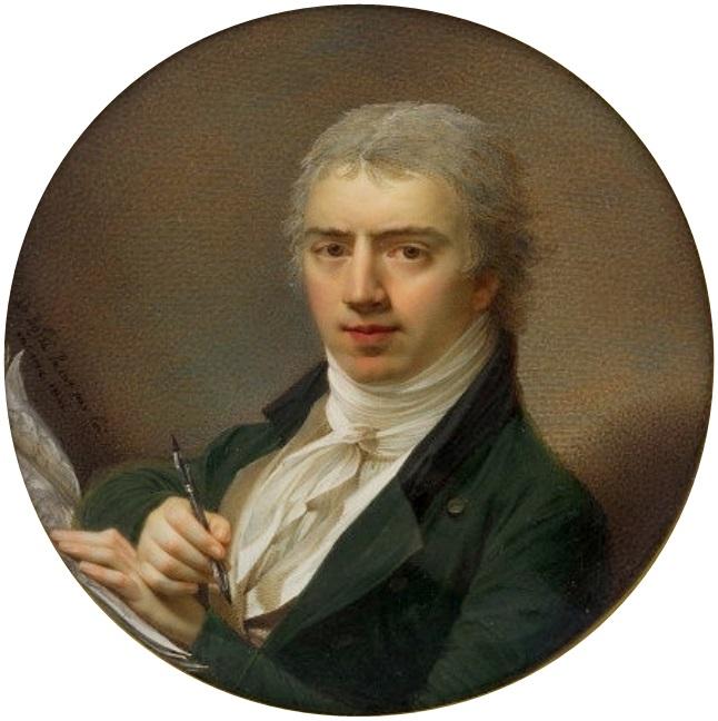 Автопортрет. 1801 г. Национальный музей (Варшава)