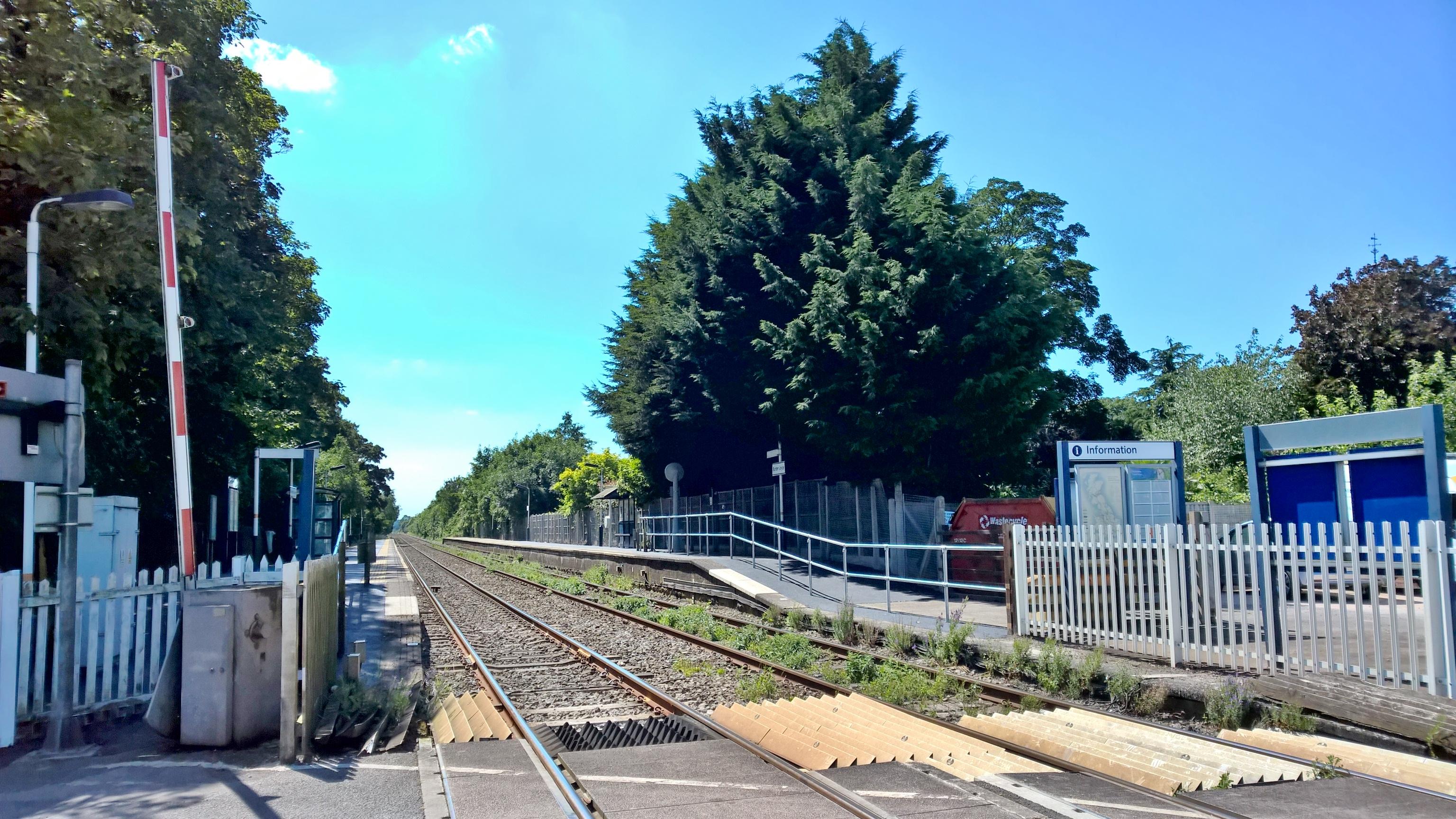 Nottingham Lowdham 1 Burton Joyce Railway Station Photo Newark Line.