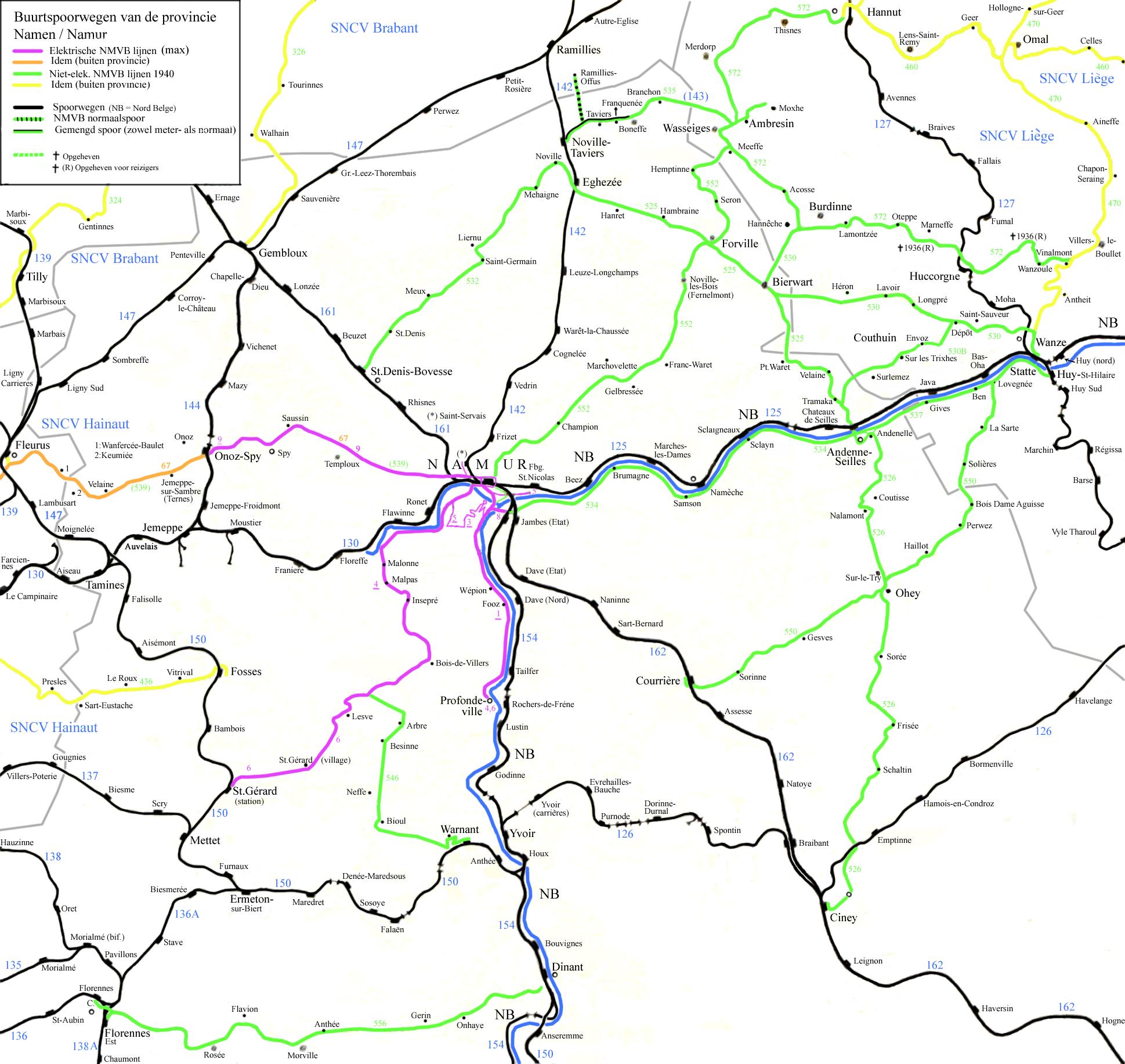 railway map of belgium
