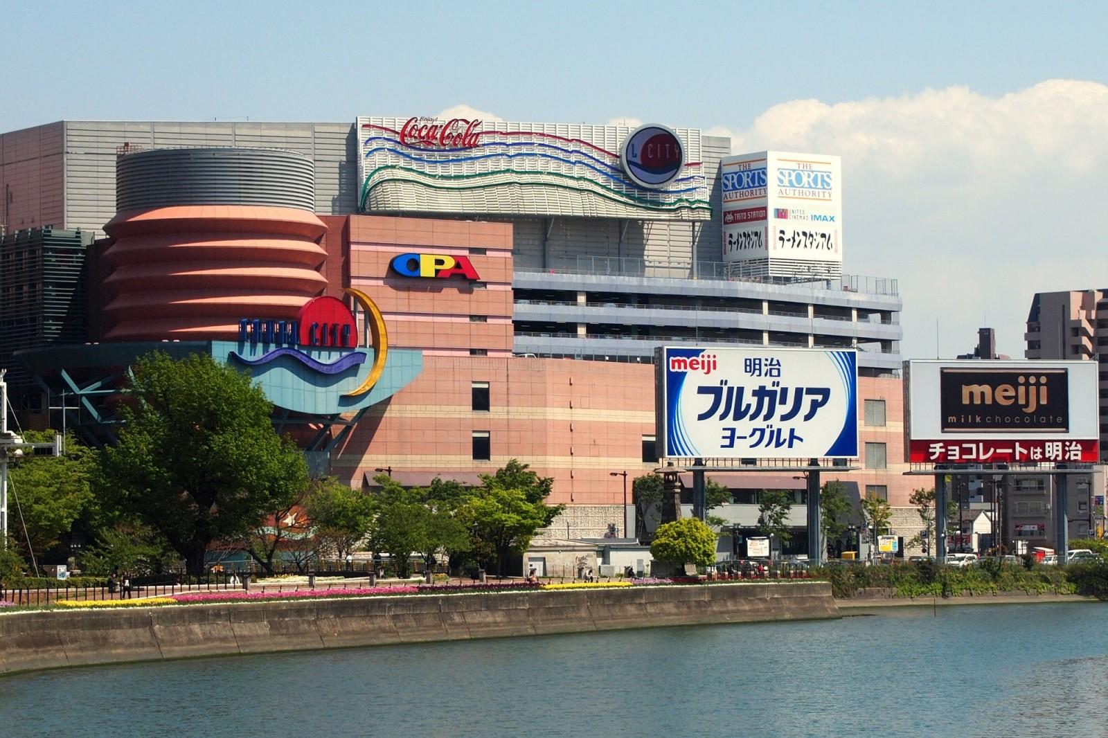 中洲・博多・天神のショッピングスポット キャナルシティ博多