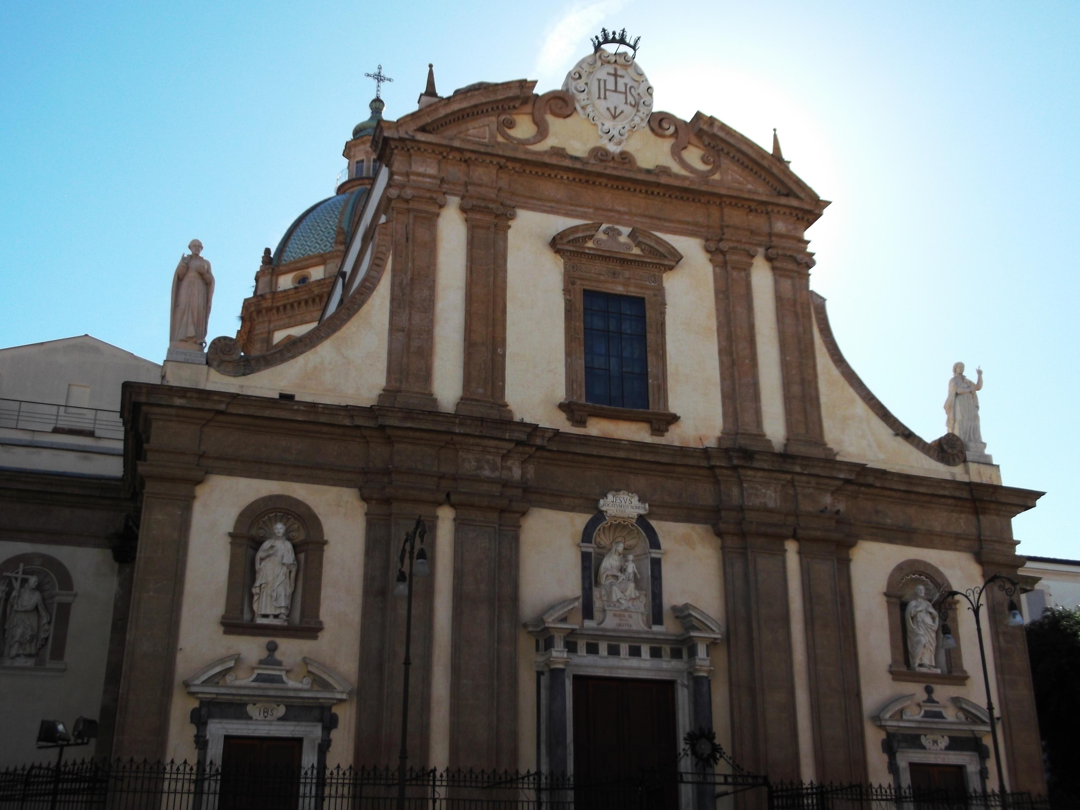 Chiesa del ges palermo wikiwand for Immagini di casa