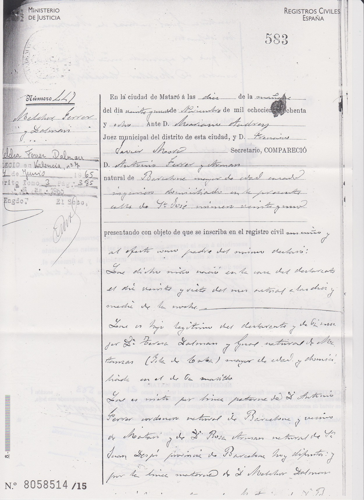 Melchor Ferrer Dalmau - Wikipedia