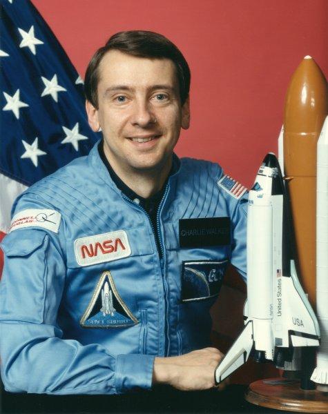 Astronaut Charles Walker, NASA photo Source: Wikipedia (www.jsc.nasa.gov unavailable August 2019) CharlesDWalker.jpg
