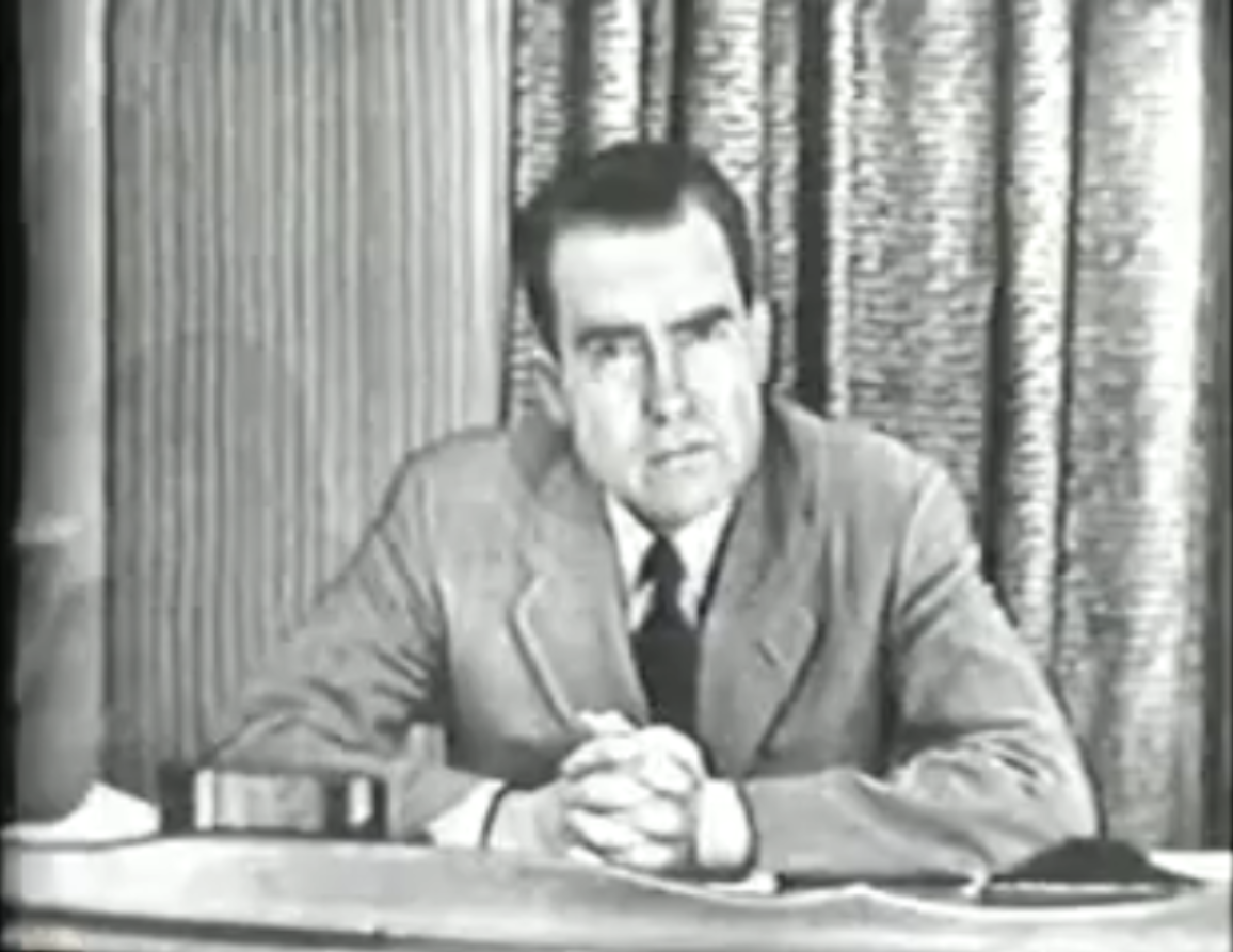 richard nixon checkers speech essay Fallacies - senator richard nixon's checkers speech senator richard nixon's checkers speech you have read in the papers about other funds now mr stevenson, apparently senator richard nixon's checkers speech.