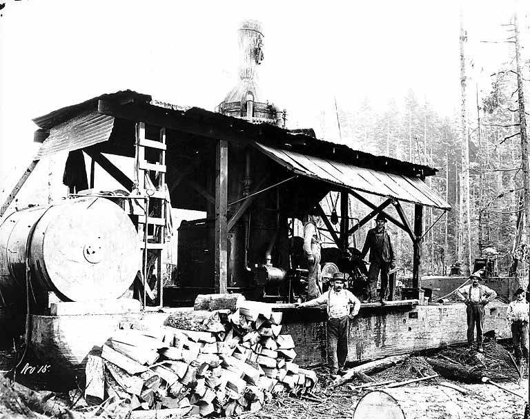File:Crew with donkey engine, Vance Lumber Company, near Malone, ca