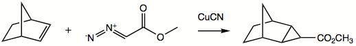 形成环丙烷体系