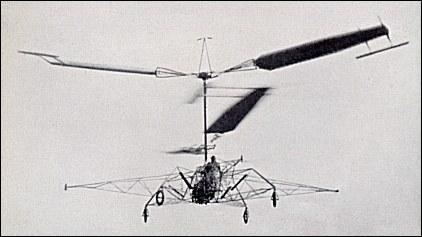 D'Ascanio - Il DAT3 in volo