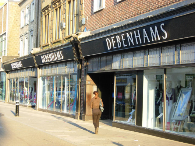 Get 10% off when you spend £50 at Debenhams.com