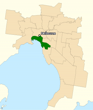 Division of Melbourne Ports 2010.png