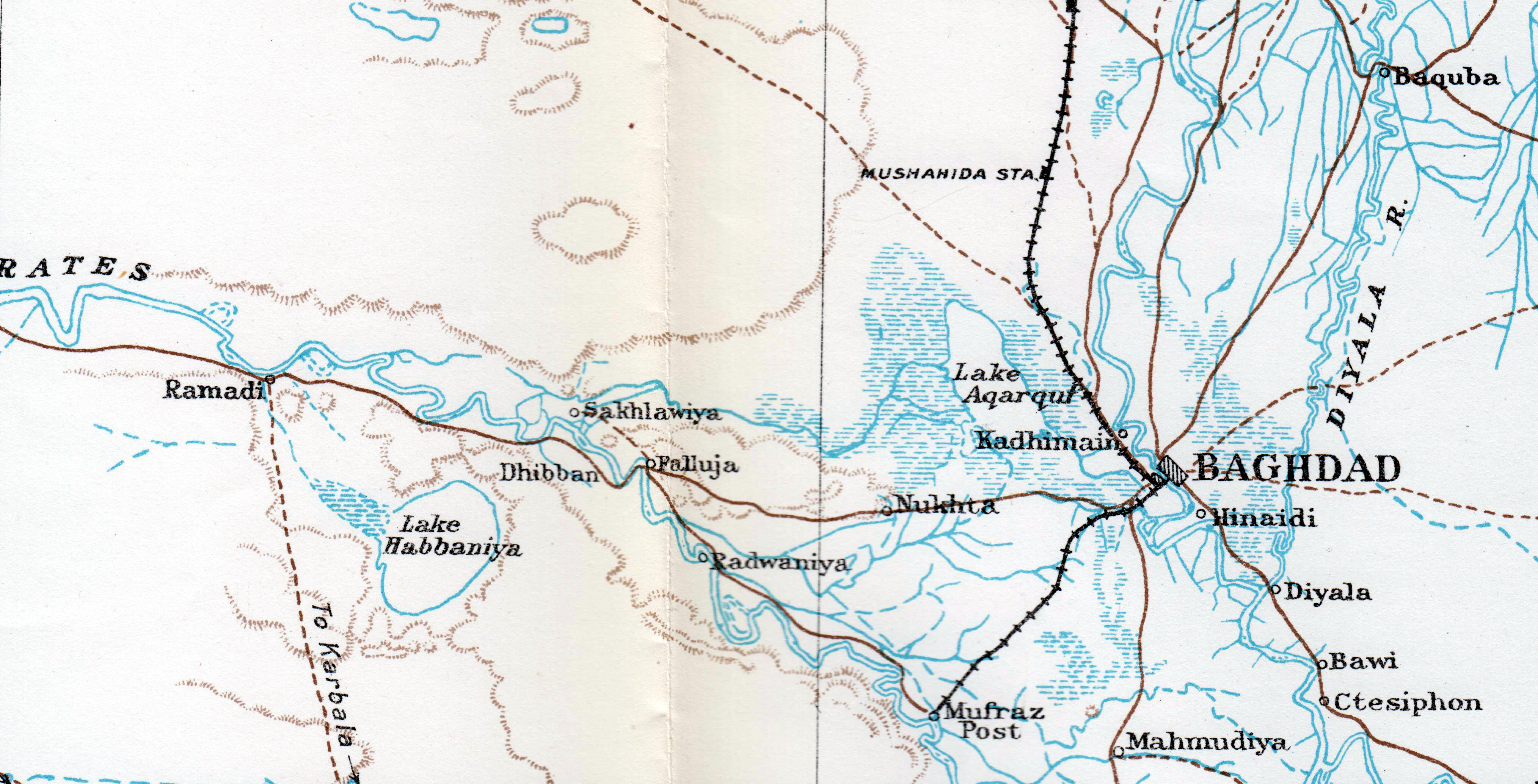 File:Euphrates from Ramadi to Baghdad 1917.jpg - Wikimedia Commons