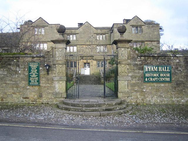 Eyam Hall - geograph.org.uk - 350044