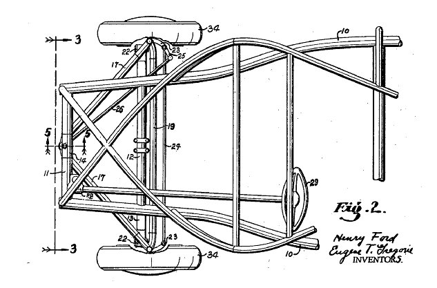 soybean car patent