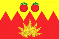 Flag of Krasnoe rayon (Lipetsk oblast).png