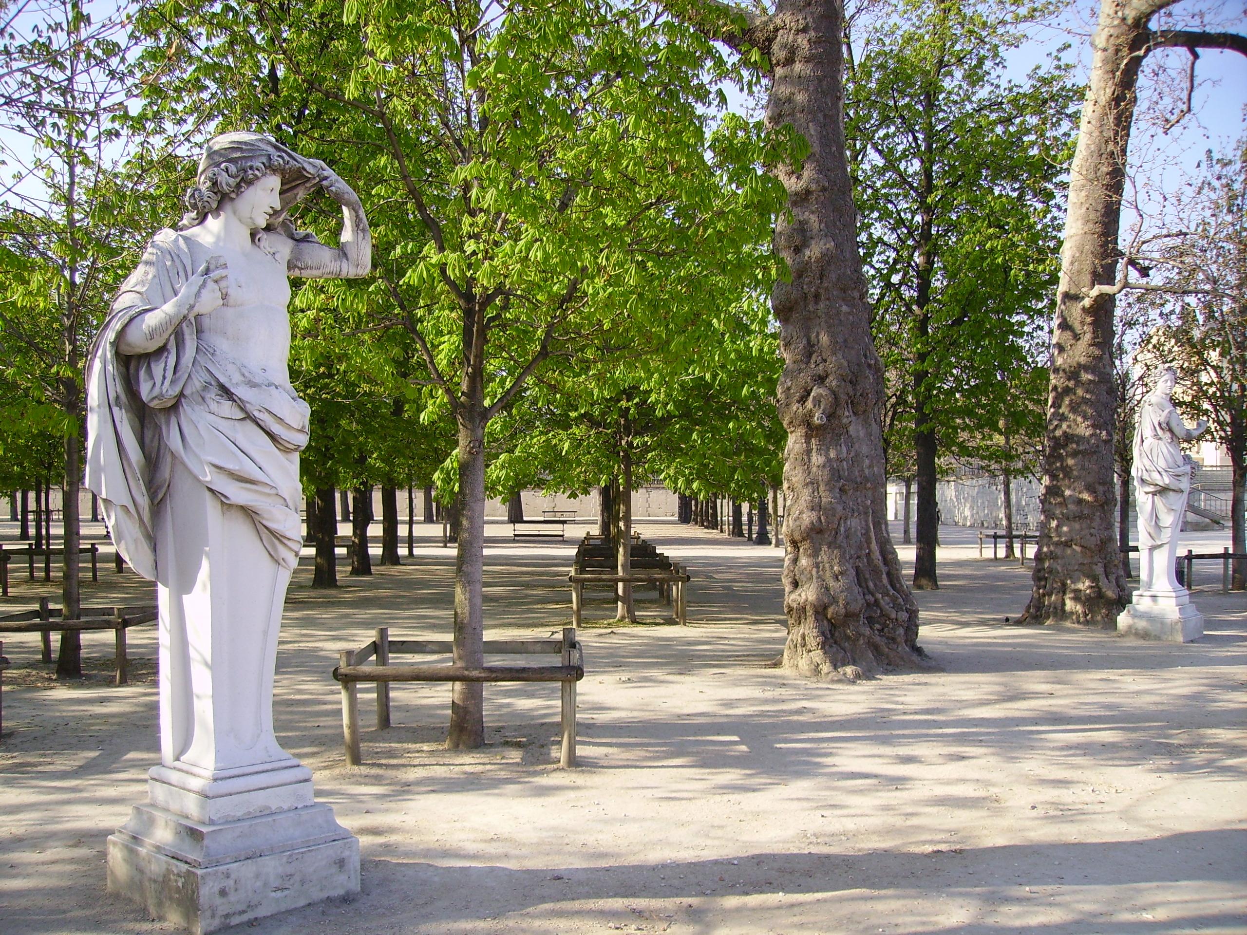 File fran ois barois le printemps l 39 automne jardin des - Sculpture jardin des tuileries ...