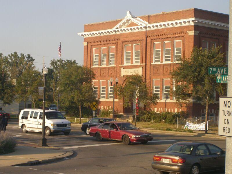 Gary Indiana P9190219 Miller School (Dist 8).JPG