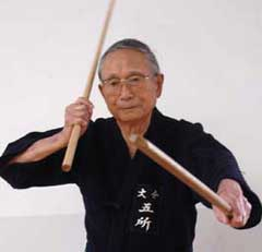 Japanese master of the martial arts