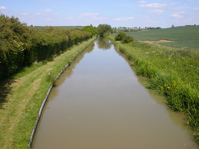 Grand Union Canal near Welford - geograph.org.uk - 1351512