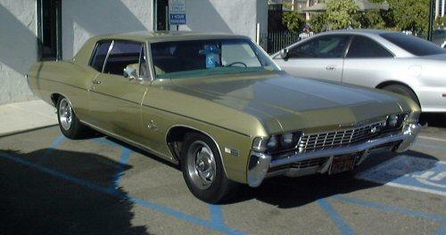 Datei Green 1968 Chevrolet Impala Custom Coupe Jpg Wikipedia