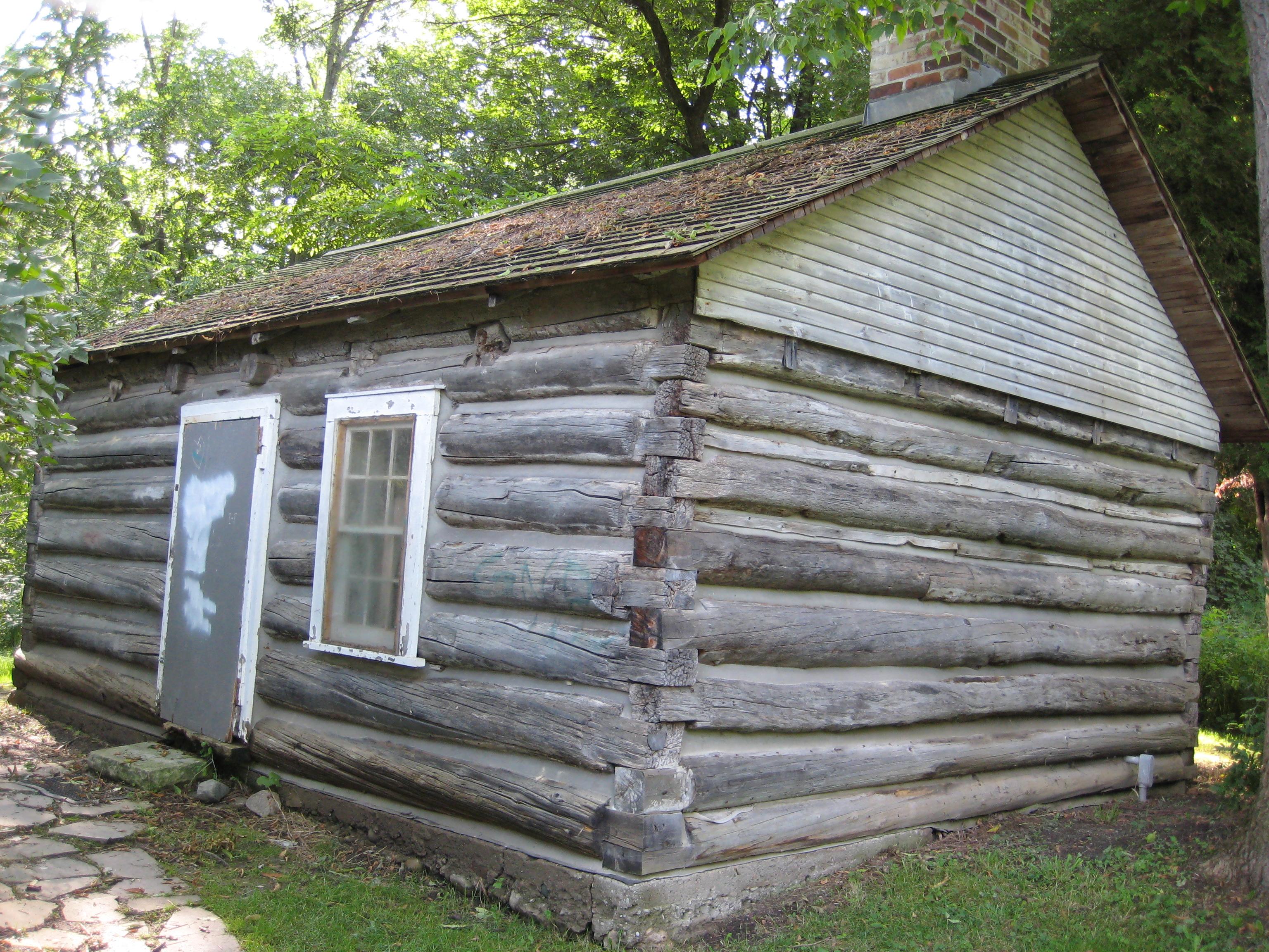 File Guild Log Cabin Jpg Wikimedia Commons