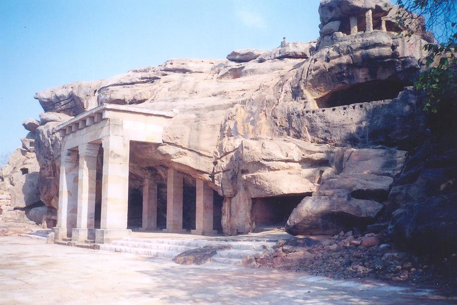 Hathigumpha, la grotte de l'éléphant