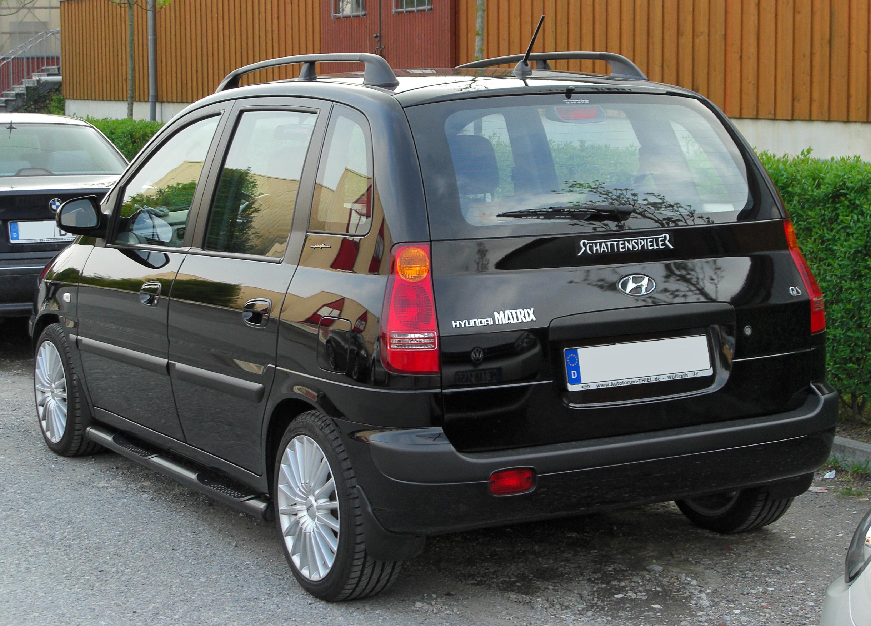 File:Hyundai Matrix GLS rear 20100509.jpg