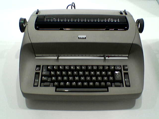 Depiction of IBM Selectric
