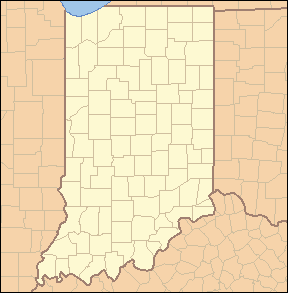 List Of Counties In Indiana Wikipedia