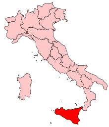 Simple Map Of Italy.Sicily Simple English Wikipedia The Free Encyclopedia