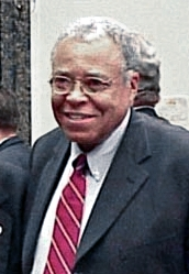 O actor estatounitense James Earl Jones.