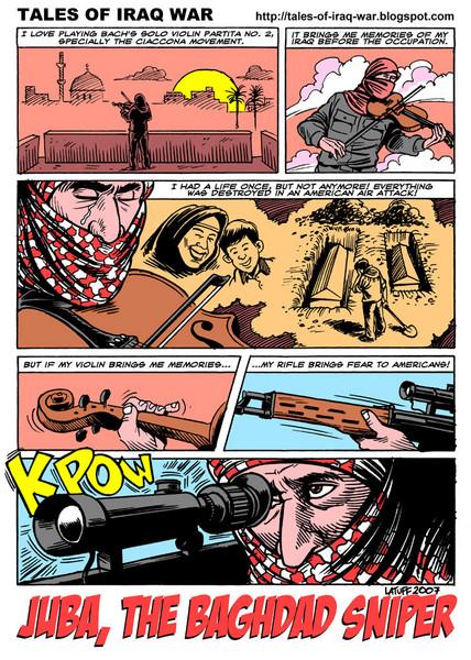 [Video] Juba,el francotirador héroe de la resistencia iraquí. - Página 2 Juba%2C_the_Baghdad_sniper_1
