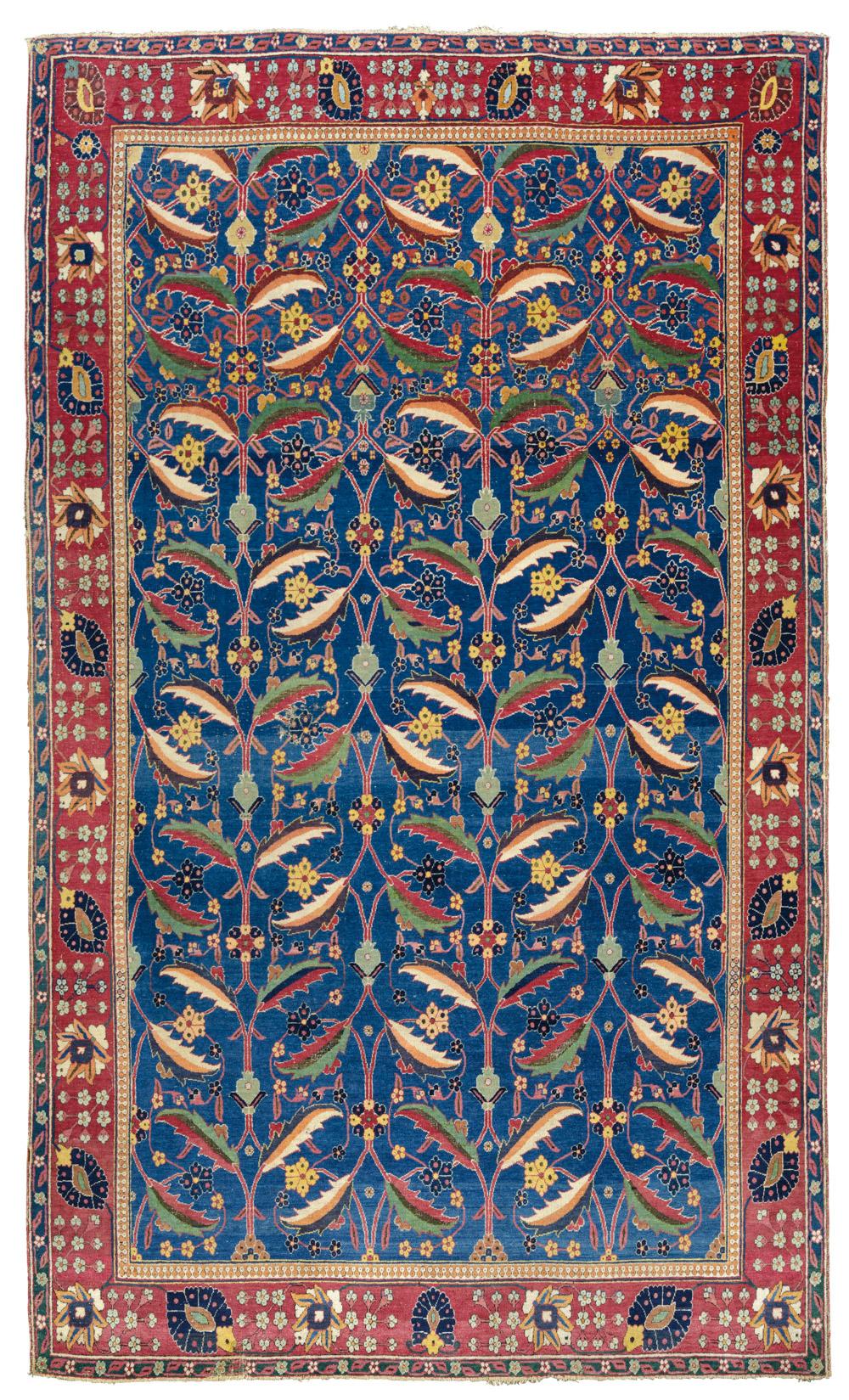File Kerman Vase Carpet Southeast Persia Late 17th
