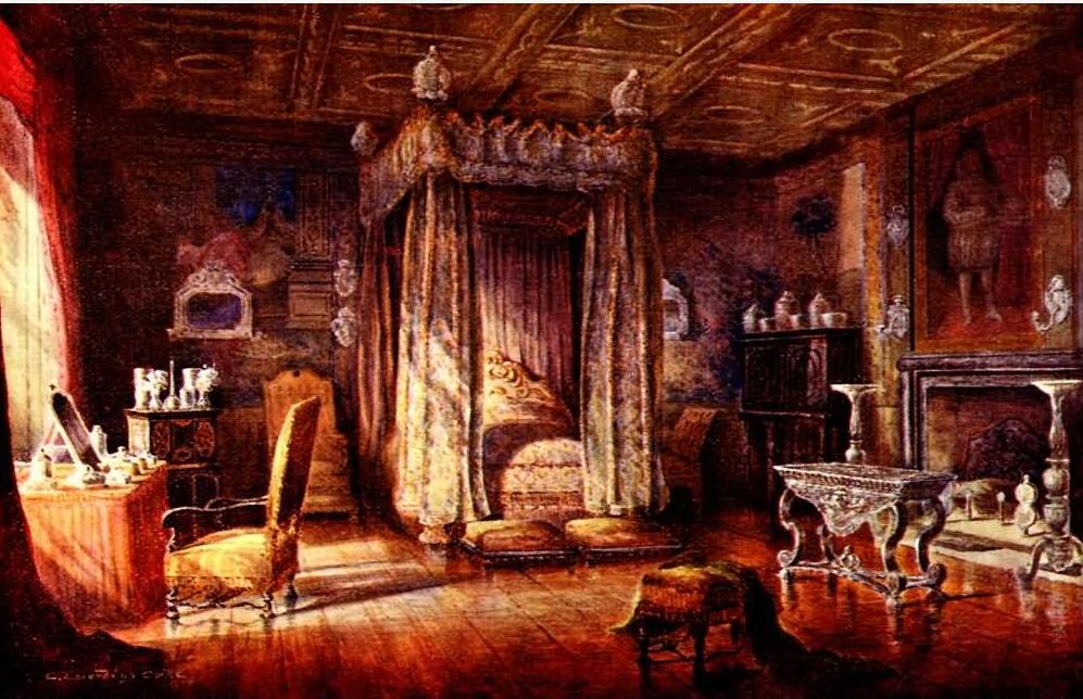 File King James I Bedroom Knole Sevenoaks Jpg
