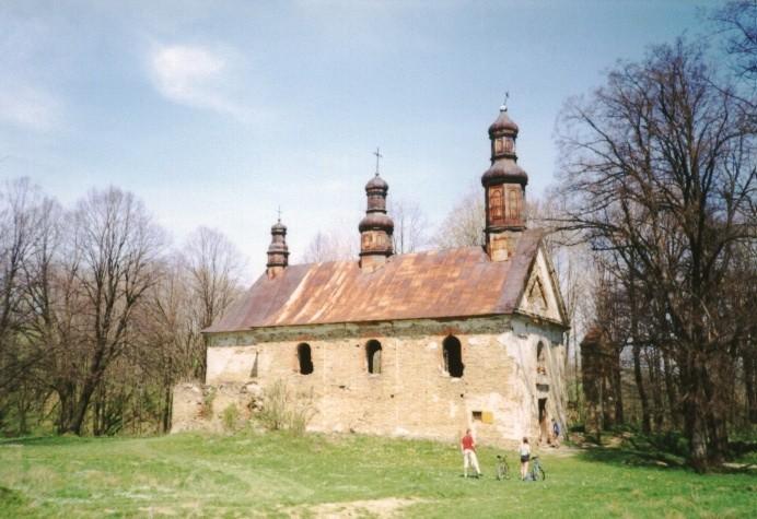 Opuszczona cerkiew greckokatolicka