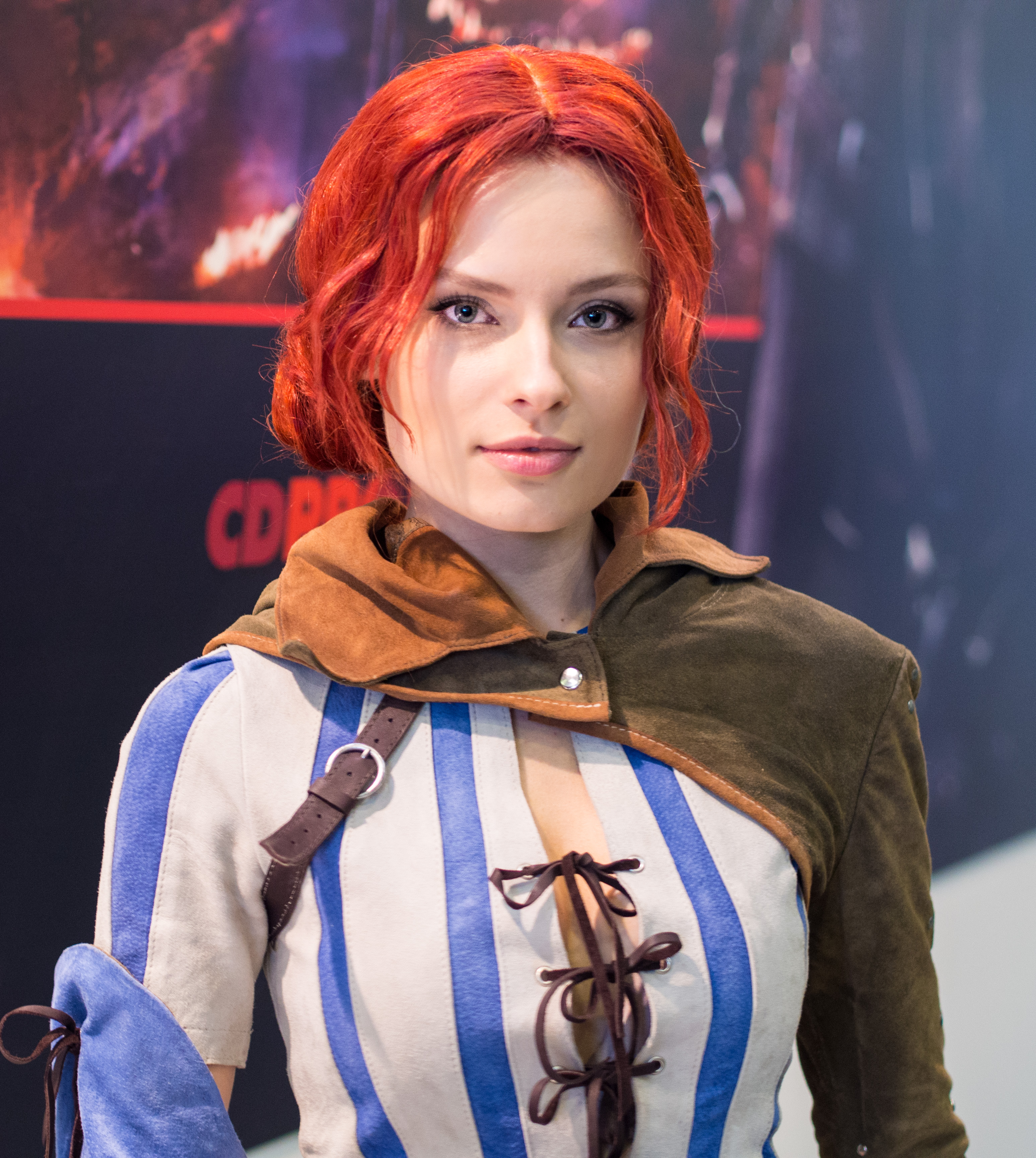 File kristina as triss from witcher 3 at igromir 2013 jpg wikimedia