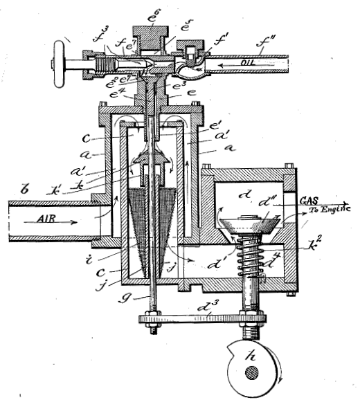 file lambert carburetor patent 517344 diagram excerpt crop png  : carburetor diagram - findchart.co