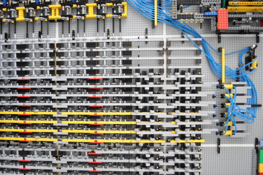 Memory Module of Lego Turing Machine