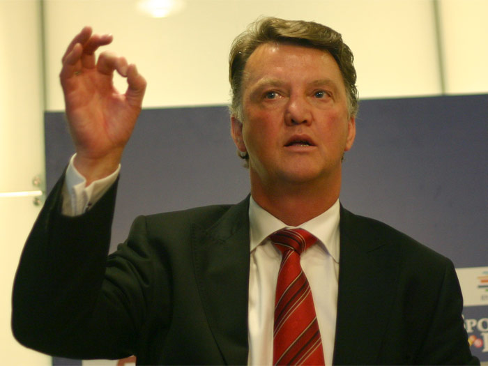 Louis Van Gaal | Can he do it on a cold, rainy night in Stoke?