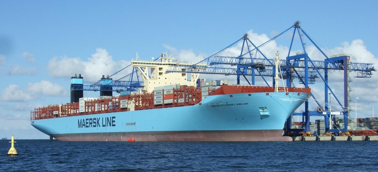 Maersk Triple E-class container ship - Wikipedia