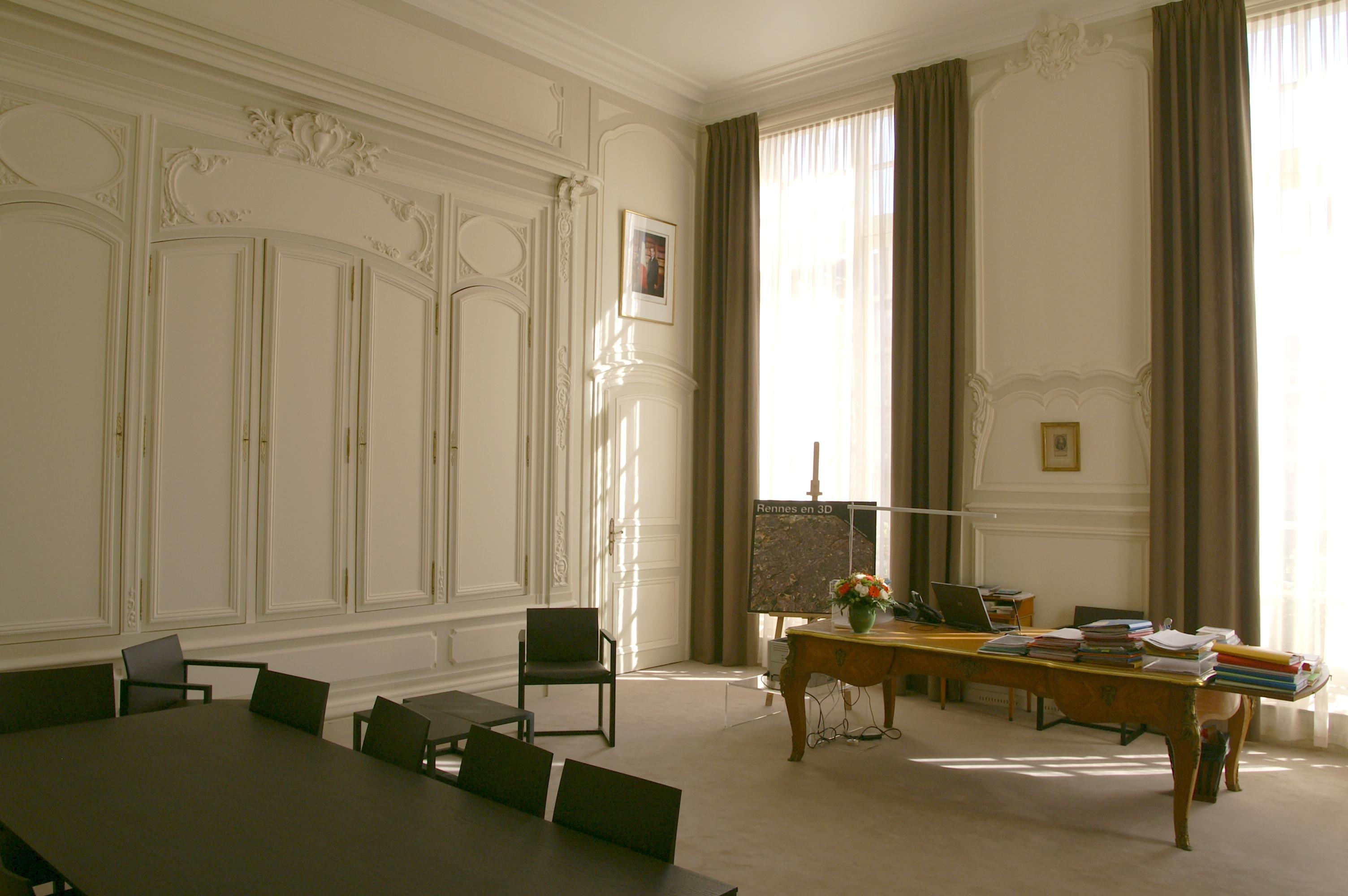File mairie de rennes bureau du maire g wikimedia commons