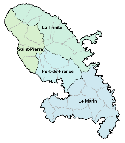 Matineque Island Map