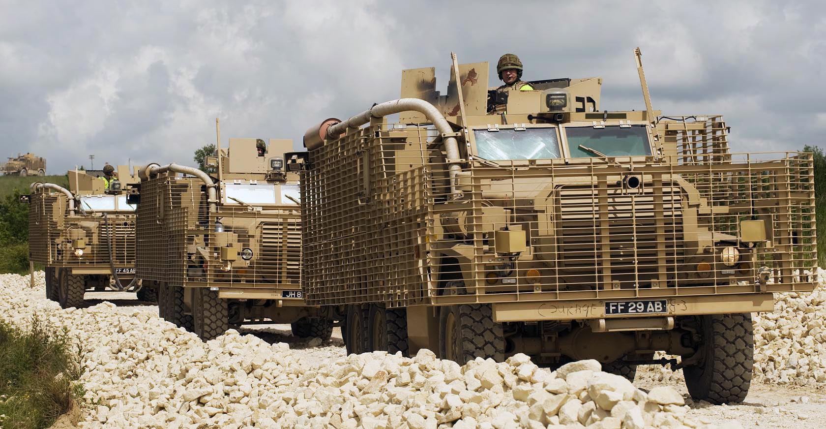 File:Mastiff and Ridgback Heavily Armoured Patrol Vehicles in ...
