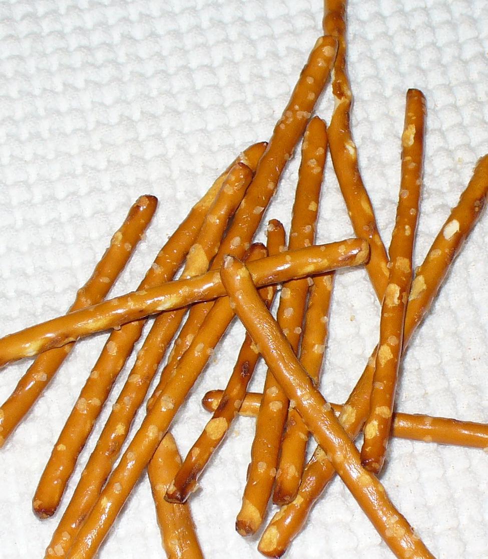 Chocolate Covered Pretzel Sticks Nutrition