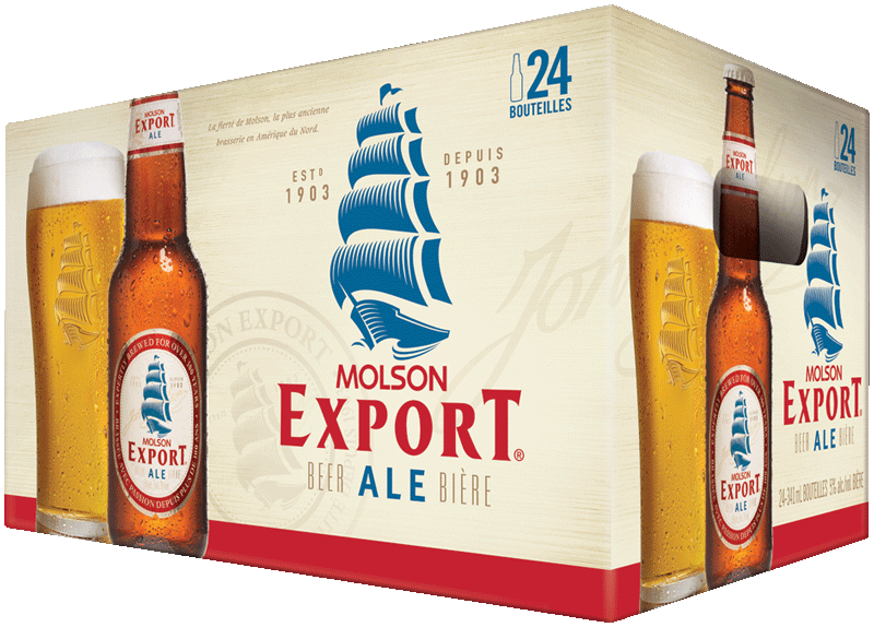 Molson export case24