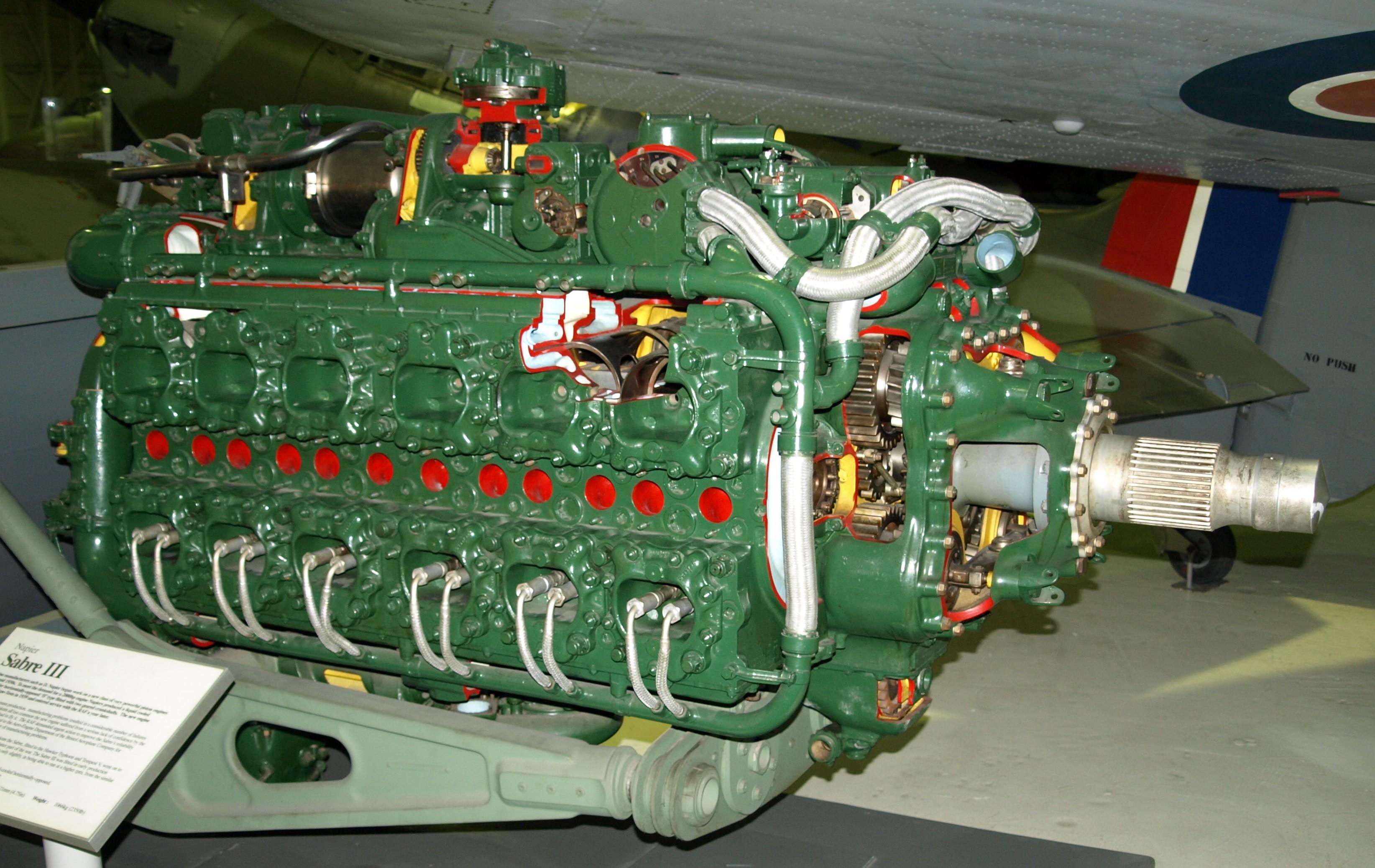 Tempest Eduard 1/48 Limited Edition + Kit résine moteur - Page 2 NapierSabreIII